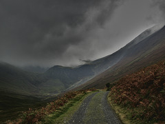 Storm clouds over Force Crag, Coledale - Cumbria
