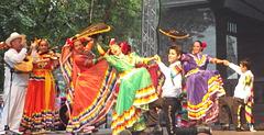 Folklora festivalo el Meksikio