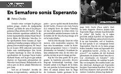 Petr Chrdle - En Semaforo sonis Esperanto