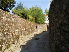 Inside the walls of Lamego Castle.