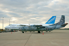 """The Expendables 3"" Antonov An-26 / LZ-ABR"