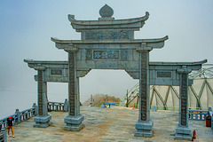 Gate to the to the Fansipan peak