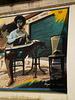 Fernando Pessoa mural.