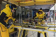 Waxing the Ski
