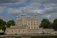Tower of London from the Middle of the Thames