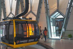 Get on the cable car to the Fansipan