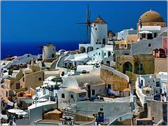 Santorini : Oia intricata e affascinante - (972)
