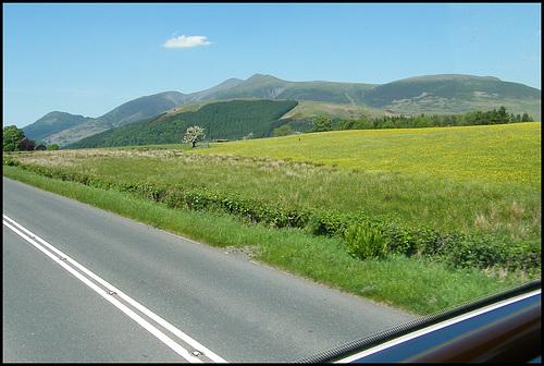 looking towards Skiddaw