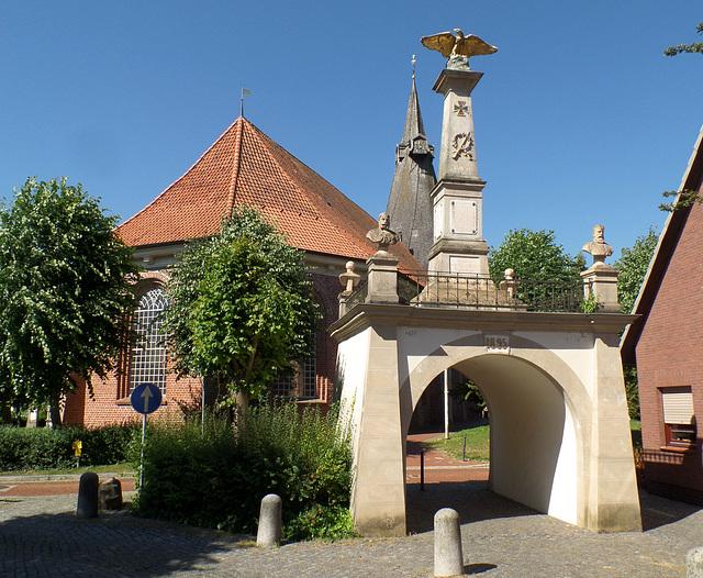 (5) Kirchen im Alten Land: Estebrügge-St. Martini (Details 9 x PiP)