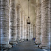 Vaticano : il colonnato del Bernini in piazza San Pietro