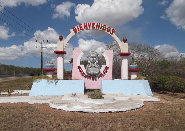 Bienvenidos Municipio de Holguin