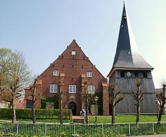 (1) Kirchen im Alten Land: Jork-St. Matthias (6 x PiP)