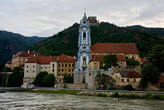 a church along the river