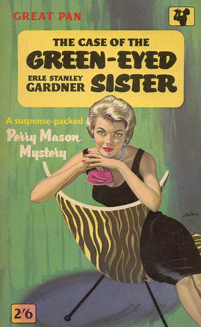 Erle Stanley Gardner - The Case of the Green-Eyed Sister