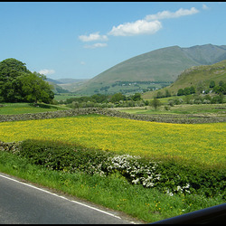 Blencathra and Naddle Valley