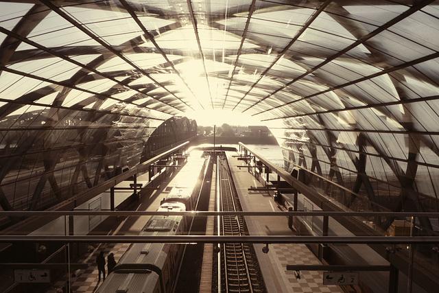 Station Elbbrücken der Linie U 4