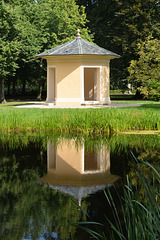 Der Teepavillon im Ludwigsluster Schlosspark