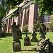 Grabsteine an der Kirche St. Pankratius