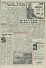 Arbeiderbladet, Oslo, 8. juni 1963