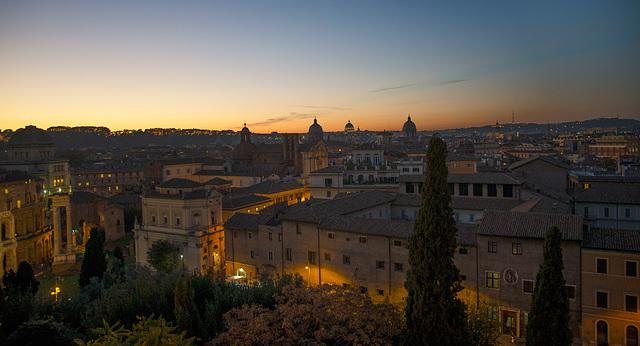 Ipernity Roma Tramonto Dalla Terrazza Del Campidoglio