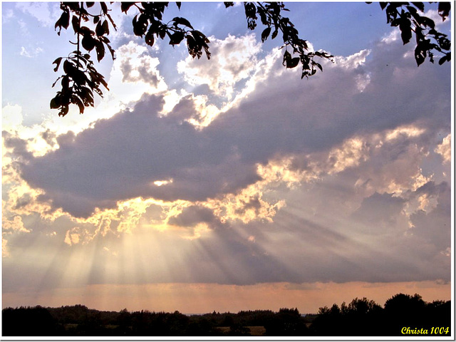 Divine light...