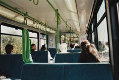 On board Sheffield Supertram set 25 – 9 Oct 1995 (290-08)