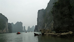 Baie d'Along au Viet-Nam . Voyage en 2013