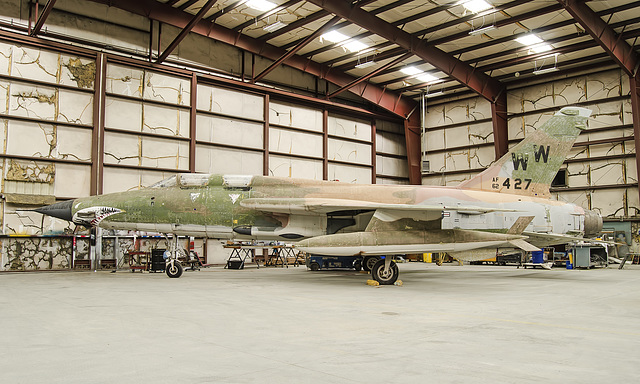 Republic F-105G Wild Weasel 62-4427