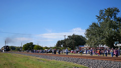 Passby Video of the UP4014 (Big Boy) Train, D'Hanis, Texas