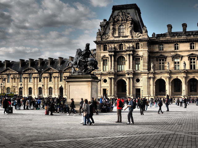 Paris, Louvre