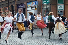 Folklora ensemblo Vycpálkovci el Prago
