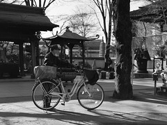 Visiting by bicycle