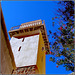 SINAI : Il minareto della piccola moschea costruita all'interno del monastero su pressioni del profeta Maometto - mai utilizzata e non aperta al culto
