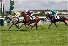 Une course à Chantilly