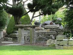 Garten-Stonehenge