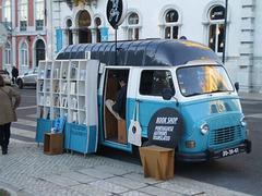 Mobile book-shop.