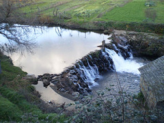Weir on Onor River.