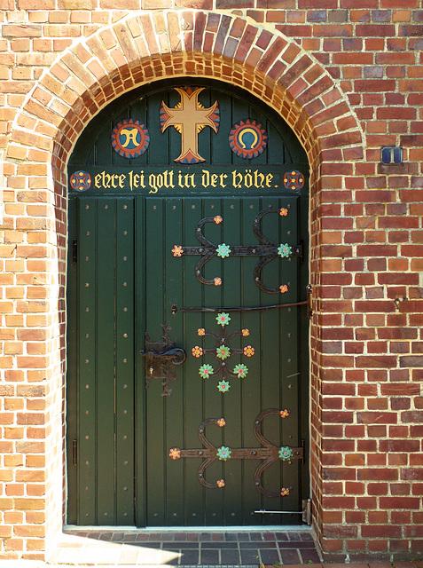 Pforte der St. Matthias Kirche in Jork