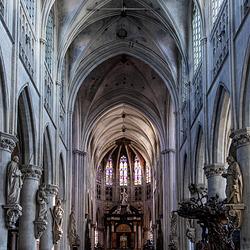 Sint-Romboutskathedraal, de hoofdkerk van het aartsbisdom Mechelen-Brussel.