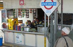 Refreshments at Ambala Cantt Junction