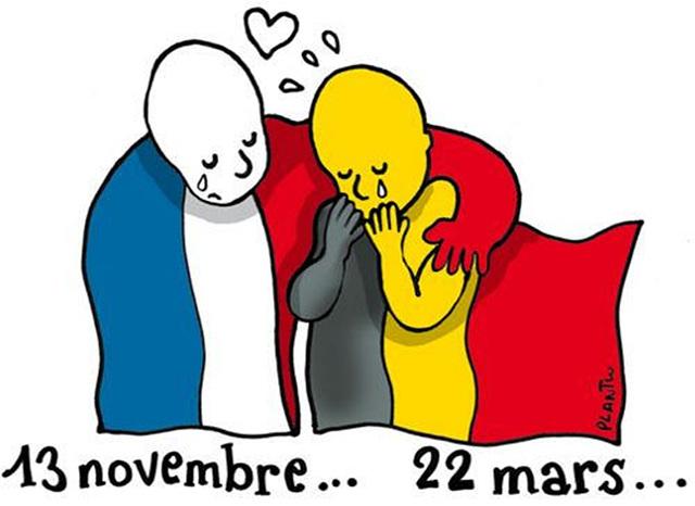 Je suis Belge.....