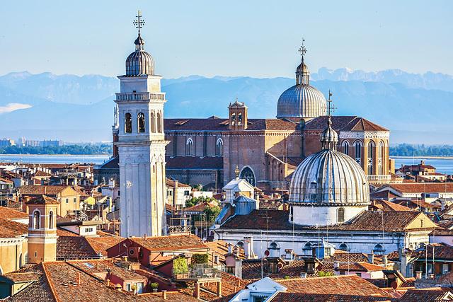 Der schiefe Turm von San Giorgio dei Greci