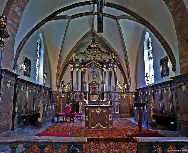 Kirchenraum der St. Josef Kirche in Nörvenich