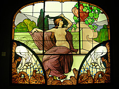 Emile Gallé, vitrail | stained glass