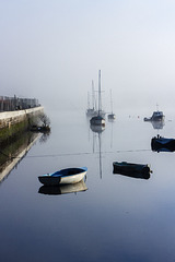 River Leven in the Mist