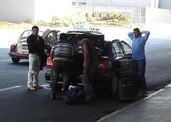Affaire de coffre-arrière / Rear trunk moment