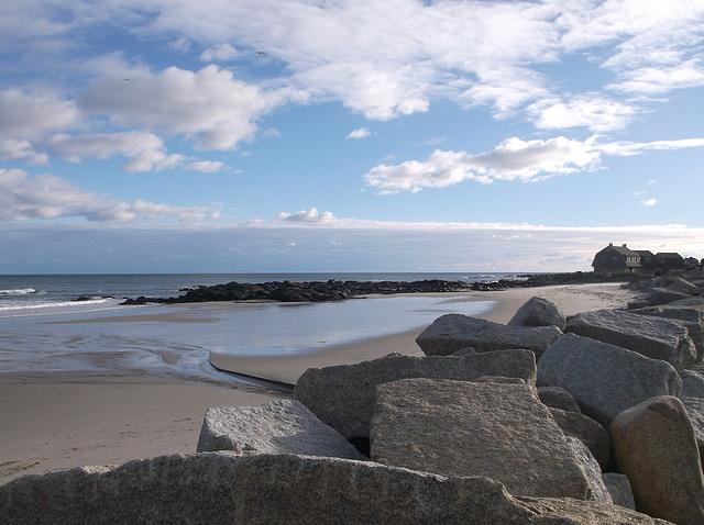 Roches de plage / Beach huge rocks