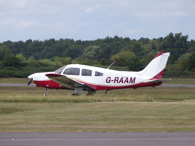G-RAAM at Blackbushe (2) - 17 June 2015