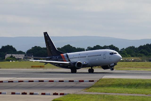 G-ZAPZ departing Manchester (1) - 11 July 2015