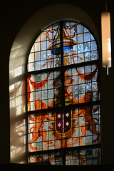 Dorpskerk Bloemendaal 2015 – Stained-glass window